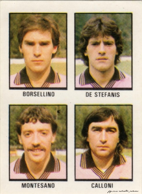 figurine calciatori palermo 1980-1981