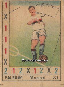 Palermo Calcio 1950-1951 Moretti