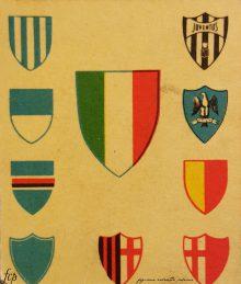 figurine calciatori palermo 1956-1957 Scudetti Elah