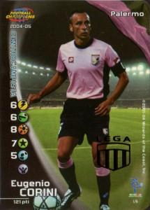 figurine calciatori palermo 2004-2005 Corini
