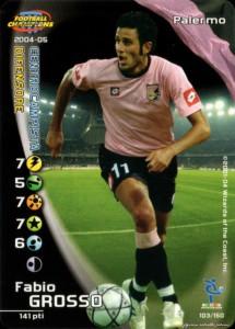 figurine calciatori palermo 2004-2005 Grosso