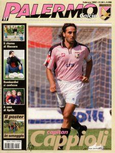 Palermo calcio feb.2002 Cappioli