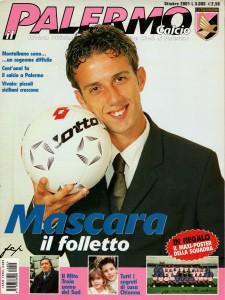 Palermo calcio ott.2001 Mascara
