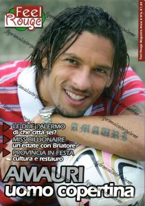 Feel Rouge nov. 2007 Amauri