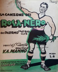 La canzone dei rosanero 1932 Rivista donata dal Dott. Giuseppe Giambalvo
