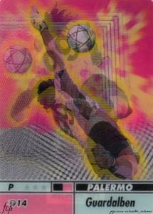 figurine calciatori palermo 2004-2005 animotion Guardalben