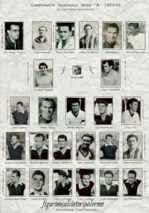 Palermo Calcio1953-1954 Squadra
