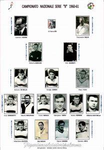 Rosa Squadra 1960-1961